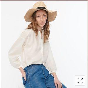 Jcrew Packable Straw Hat